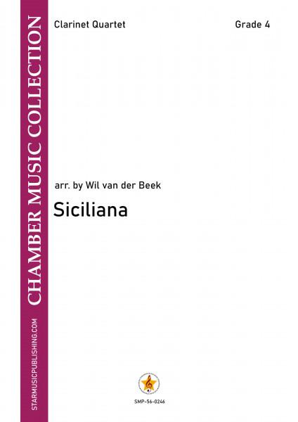 Siciliana • Klarinettenquartett • Titelbild
